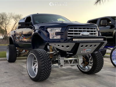 """2012 Ford F-150 - 28x16 -103mm - RBP Forged Zion - Lifted >12"""" - 40"""" x 15.5"""""""