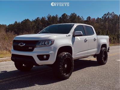 "2019 Chevrolet Colorado - 20x10 -18mm - Anthem Off-Road Avenger - Suspension Lift 3"" - 275/55R20"