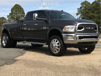 """2018 Ram 3500 - 22x8.25 175mm - American Force Independence Ss - Stock Suspension - 35"""" x 12.5"""""""