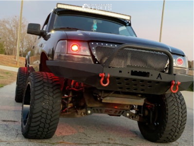 """2000 Ford Ranger - 20x12 -44mm - Fuel Cleaver - Suspension Lift 8"""" - 33"""" x 12.5"""""""
