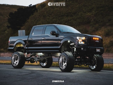 """2016 Ford F-150 - 24x14 -76mm - Gear Forged F70p1 - Lifted >12"""" - 37"""" x 13.5"""""""