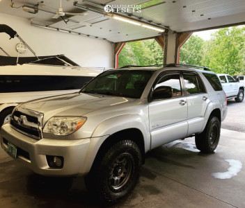 2007 Toyota 4Runner - 17x8.5 -6mm - Fuel Anza - Leveling Kit - 245/75R17
