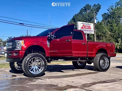 "2018 Ford F-250 Super Duty - 26x14 -72mm - Tuff T2a - Suspension Lift 8.5"" - 40"" x 15.5"""