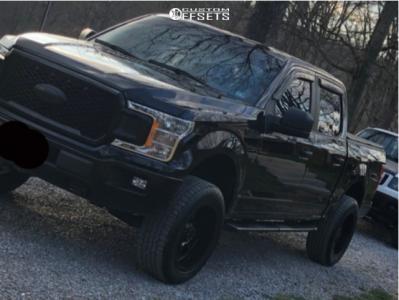 2019 Ford F-150 - 20x10 -19mm - Gear Off-Road Big Block - Leveling Kit - 275/55R20