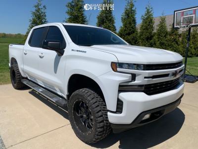"2020 Chevrolet Silverado 1500 - 20x9 -12mm - Ultra Hunter - Suspension Lift 3"" - 33"" x 12.5"""