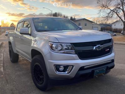 2015 Chevrolet Colorado - 17x8.5 0mm - Method Grid - Stock Suspension - 255/75R17