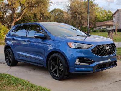2019 Ford Edge - 20x8.5 40mm - TSW Ascent - Stock Suspension - 255/45R20