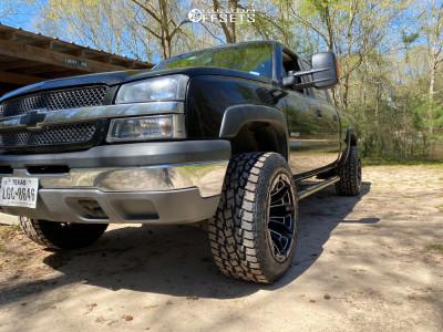 "2004 Chevrolet Silverado 2500 - 20x12 -44mm - XD Boneyard - Suspension Lift 3"" - 33"" x 12.5"""