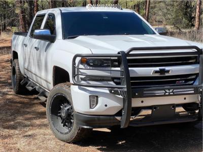 2018 Chevrolet Silverado 1500 - 20x10 -24mm - Anthem Off-Road Instigator - Leveling Kit - 265/50R20