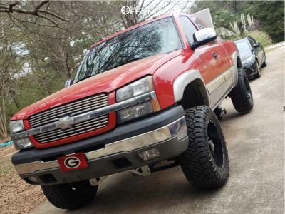 "2005 Chevrolet Silverado 1500 - 20x10 -24mm - TIS 544bm - Suspension Lift 7"" - 35"" x 12.5"""