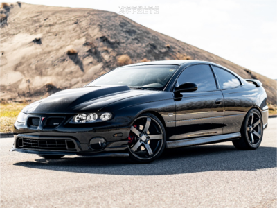 2005 Pontiac GTO - 19x8.5 42mm - MRR Vp5 - Coilovers - 235/35R19