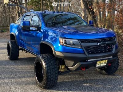 "2019 Chevrolet Colorado - 20x12 -44mm - Anthem Off-Road Equalizer - Suspension Lift 4.5"" - 33"" x 12.5"""