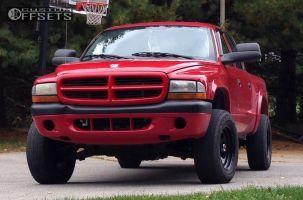 "2002 Dodge Dakota - 16x8 -6mm - Pro Comp Series 97 - Leveling Kit - 30"" x 9.5"""