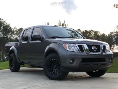 2016 Nissan Frontier - 16x8 10mm - Xd Xd818 - Stock Suspension - 215/85R16