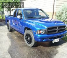 1999 Dodge Dakota - 17x8.5 12mm - Mb Wheels TKO - Stock Suspension - 255/65R17