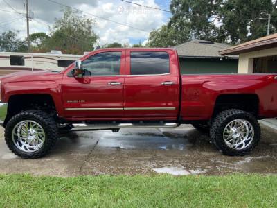 "2019 Chevrolet Silverado 2500 HD - 22x12 -43mm - Fuel Triton - Suspension Lift 6"" - 375/45R22"
