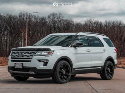 2018 Ford Explorer - 20x9 -12mm - Anthem Off-Road Defender - Stock Suspension - 265/45R20