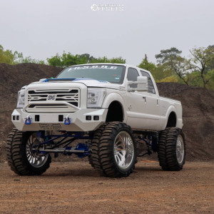 """2012 Ford F-250 Super Duty - 28x16 -101mm - JTX Forged Select Fire - Lifted >12"""" - 44"""" x 19.5"""""""