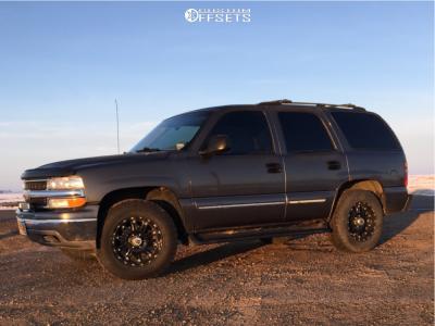 2000 Chevrolet Tahoe - 18x9 -12mm - XD Xd795 - Stock Suspension - 275/65R18