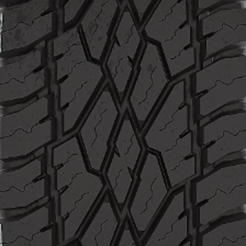 Anthem Off-Road Equalizer  -44 Fury Offroad Country Hunter At 33/12.5R20