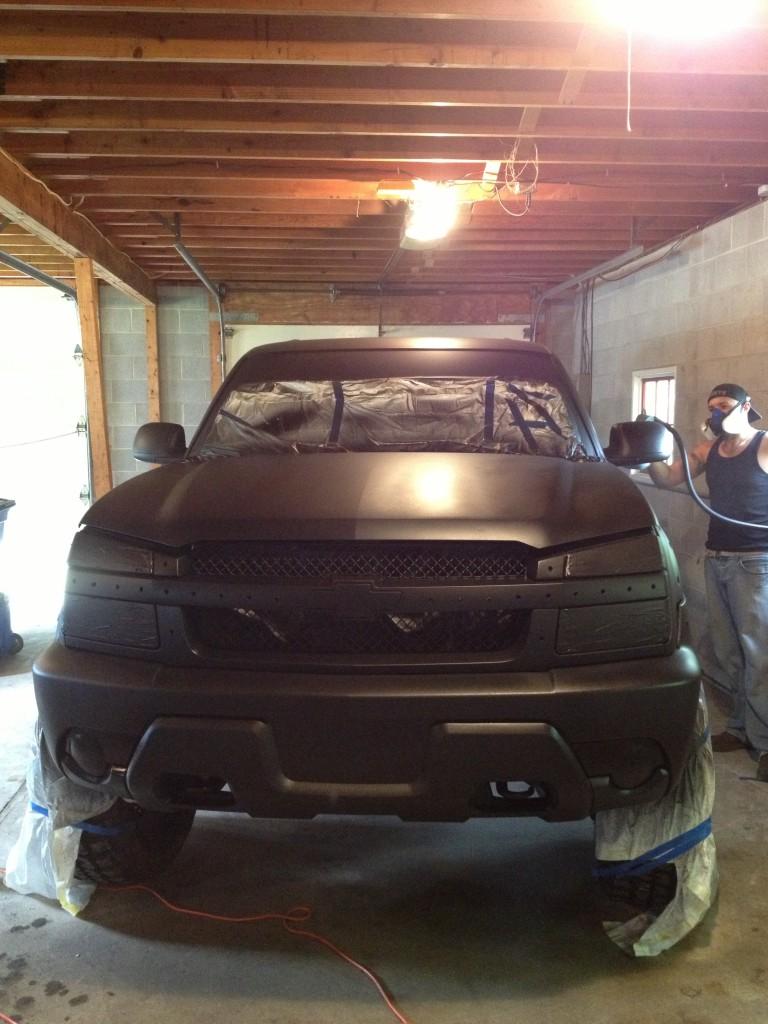 Plastidip Chevrolet Avalanche
