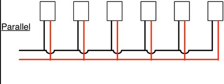 parallel LED wiring diagram