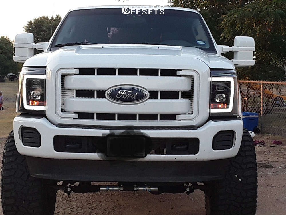 """2015 Ford F-250 Super Duty Super Aggressive 3""""-5"""" on 20x12 -44 offset RBP 65r and 38""""x15.5"""" Cooper Discoverer Stt Pro on Suspension Lift 8"""" - Custom Offsets Gallery"""