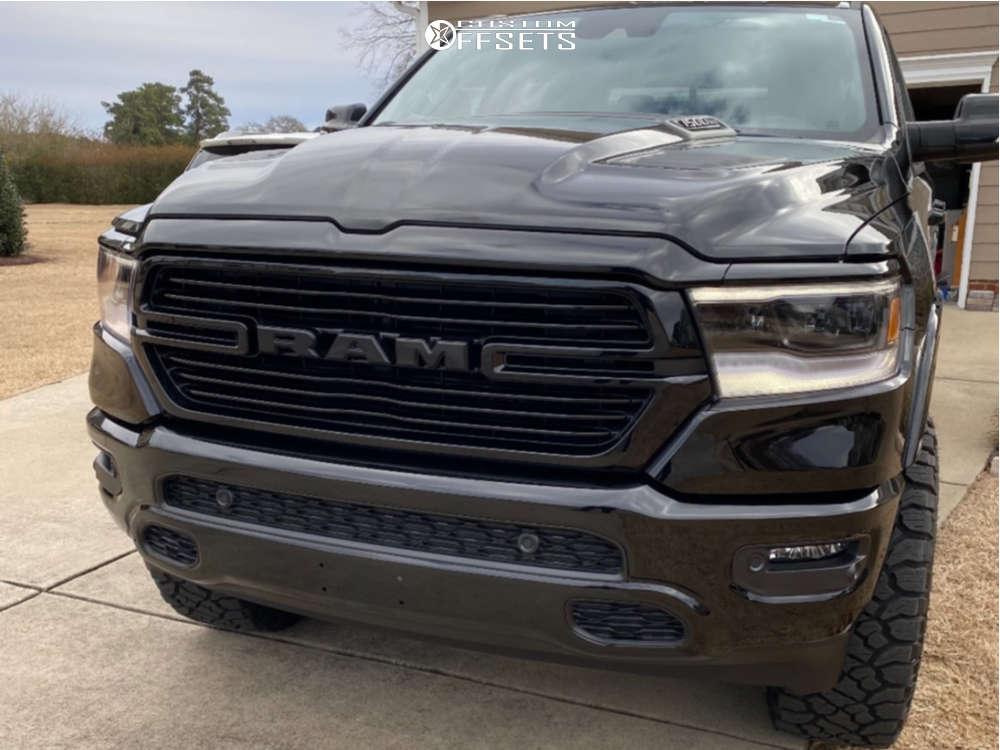 """2021 Ram 1500 Aggressive > 1"""" outside fender on 22x10 -13 offset Fuel Rebel and 35""""x12.5"""" Kenda Klever R/t on Suspension Lift 3.5"""" - Custom Offsets Gallery"""