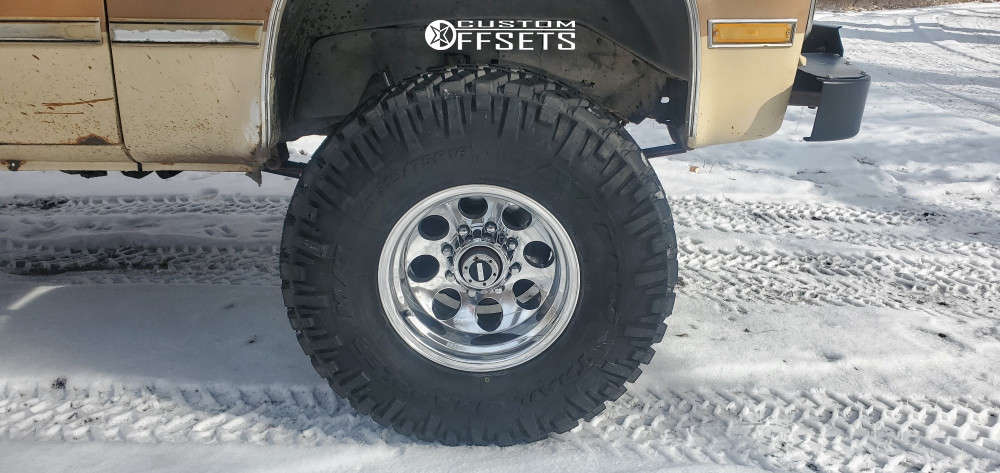 """1986 GMC K2500 Aggressive > 1"""" outside fender on 16x10 -38 offset Alloy Ion 171 and 315/75 Nitto Trail Grappler on Suspension Lift 4"""" - Custom Offsets Gallery"""