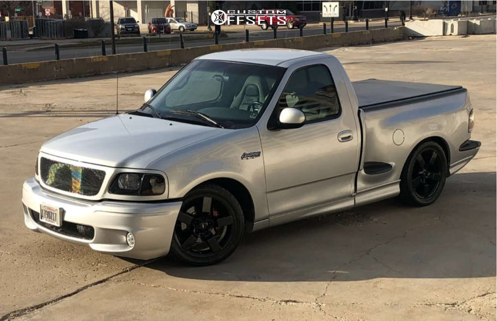 2001 Ford F-150 Flush on 20x9 8 offset SVE Lightning Replicas & 295/40 Nitto Nt555 G2 on Lowered 2F / 4R - Custom Offsets Gallery