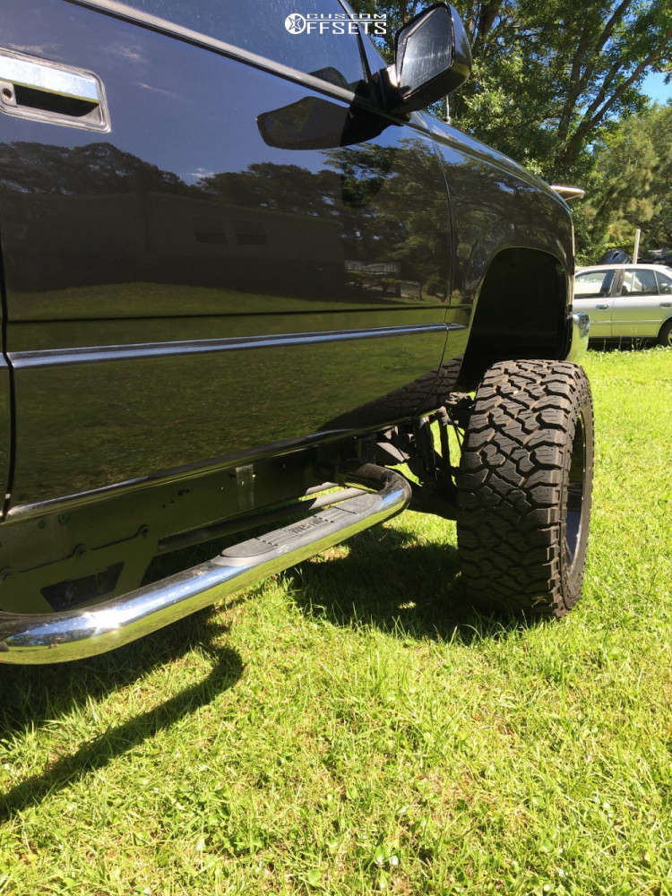 """1997 Chevrolet Silverado 1500 Super Aggressive 3""""-5"""" on 20x10 0 offset Moto Metal Mo962 and 35""""x12.5"""" Kenda Klever R/t on Suspension Lift 6"""" - Custom Offsets Gallery"""