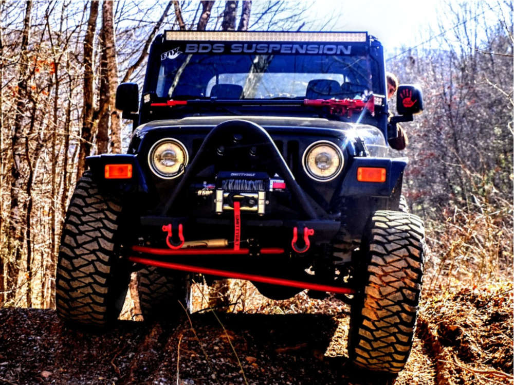 """2005 Jeep TJ Super Aggressive 3""""-5"""" on 15x8 -25 offset Pro Comp 51 and 35""""x12.5"""" Mickey Thompson Baja Mtz P3 on Suspension Lift 4.5"""" - Custom Offsets Gallery"""