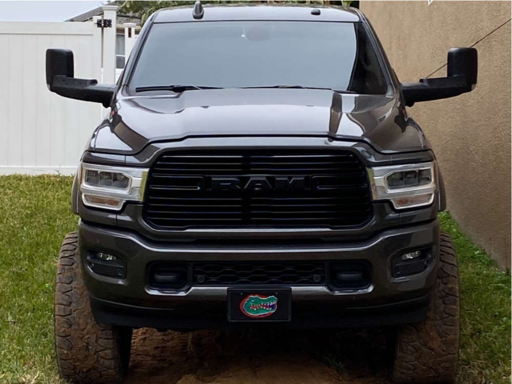 """2019 Ram 2500 Super Aggressive 3""""-5"""" on 24x12 -44 offset Gear Other and 37""""x13.5"""" Delinte Dx-12 Bandit Rt on Suspension Lift 6"""" - Custom Offsets Gallery"""