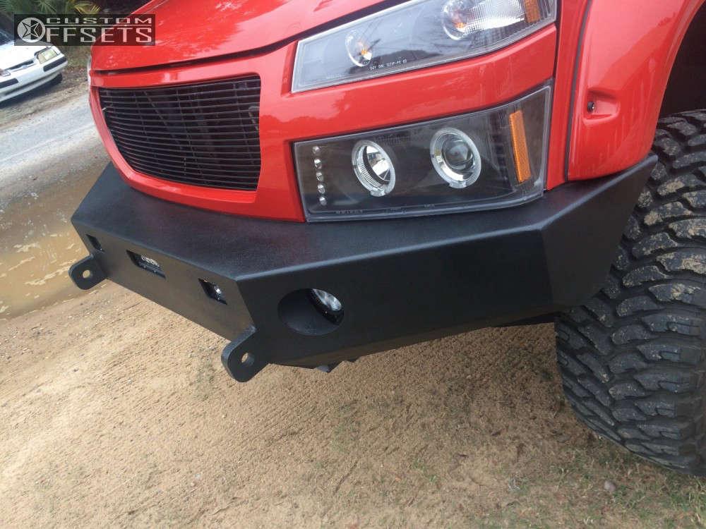"2008 Chevrolet Colorado Slightly Aggressive on 20x10 -19 offset Dropstars 645B & 35""x12.5"" Gladiator QR900-MT on Suspension Lift 4"" - Custom Offsets Gallery"