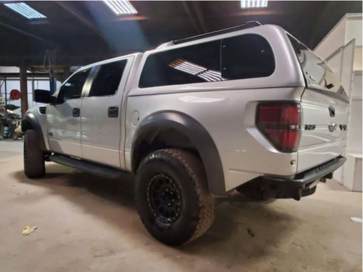 """2013 Ford Raptor Aggressive > 1"""" outside fender on 17x8.5 0 offset Method Nv and 37""""x8.5"""" BFGoodrich All Terrain T/a Ko2 on Suspension Lift 2.5"""" - Custom Offsets Gallery"""