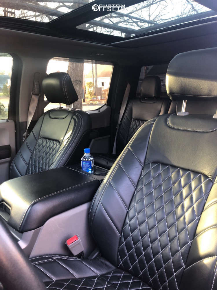 """2018 Ford F-150 Super Aggressive 3""""-5"""" on 20x12 -51 offset Cali Offroad Gemini and 35""""x12.5"""" Comforser Cf3000 on Suspension Lift 6"""" - Custom Offsets Gallery"""