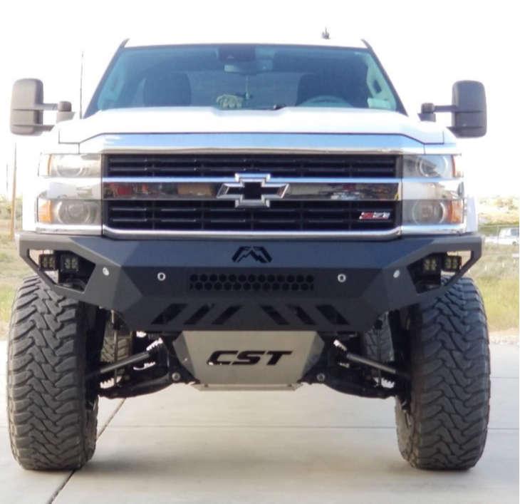 "2015 Chevrolet Silverado 2500 HD Aggressive > 1"" outside fender on 20x12 -44 offset Sendel Locker & 37""x13.5"" Toyo Tires Open Country Mt on Suspension Lift 8"" - Custom Offsets Gallery"