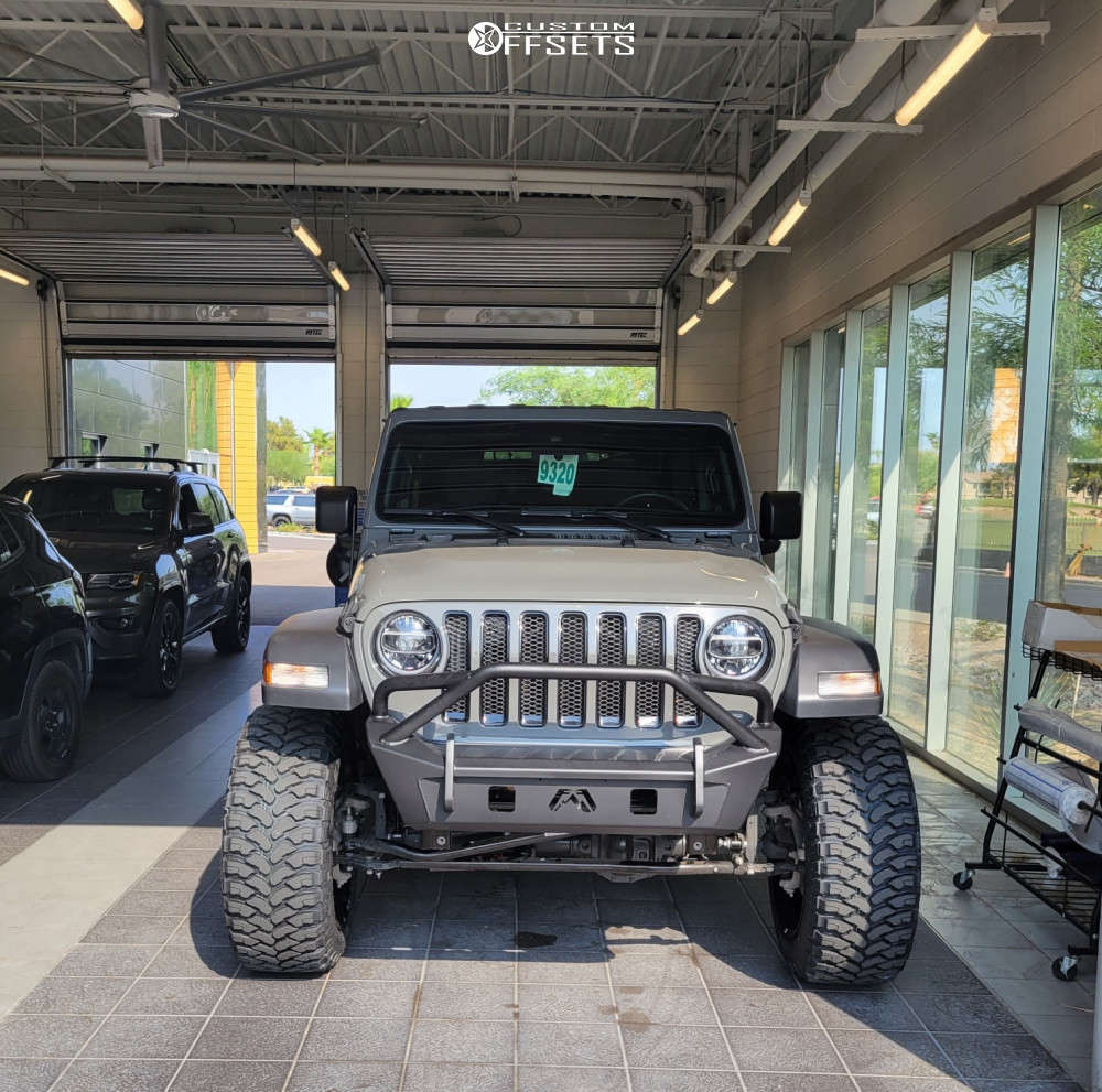 """2020 Jeep Wrangler Super Aggressive 3""""-5"""" on 22x12 -44 offset Hardcore Offroad Hc19 & 35""""x12.5"""" Comforser Cf3000 on Suspension Lift 2.5"""" - Custom Offsets Gallery"""