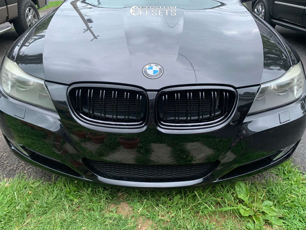 2011 BMW 328i xDrive Flush on 18x9.5 35 offset Enkei Raijin & 245/40 Continental Extreme Contact Dws06 on Stock Suspension - Custom Offsets Gallery
