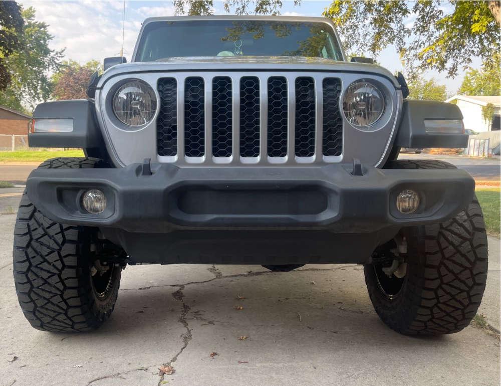 "2020 Jeep Gladiator Super Aggressive 3""-5"" on 20x10 -18 offset Ballistic Rage & 35""x12.5"" Nitto Ridge Grappler on Suspension Lift 2.5"" - Custom Offsets Gallery"