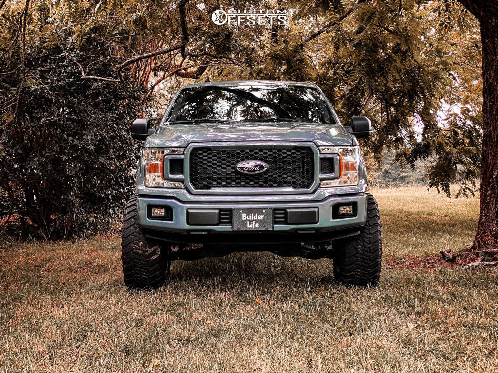 """2020 Ford F-150 Super Aggressive 3""""-5"""" on 20x12 -44 offset Gear Off-Road Raid & 35""""x13.5"""" Atturo Trail Blade Mts on Suspension Lift 6"""" - Custom Offsets Gallery"""