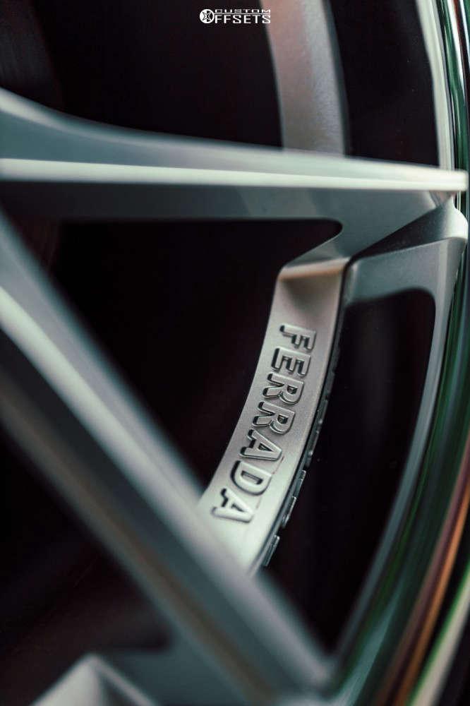 2015 Infiniti Q50 Tucked on 20x10.5 25 offset Ferrada Fr2 & 245/35 Vercelli Strada Ii on Air Suspension - Custom Offsets Gallery