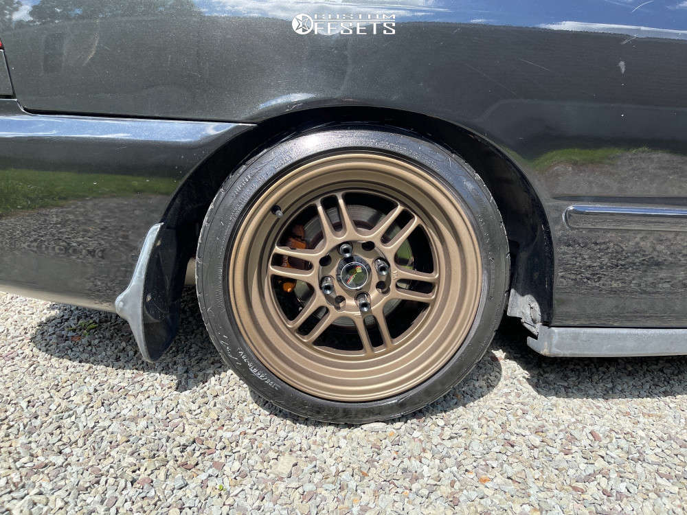 2000 Acura Integra Nearly Flush on 15x8 20 offset Vors Tr6 & 195/45 Toyo Tires Proxes on Coilovers - Custom Offsets Gallery