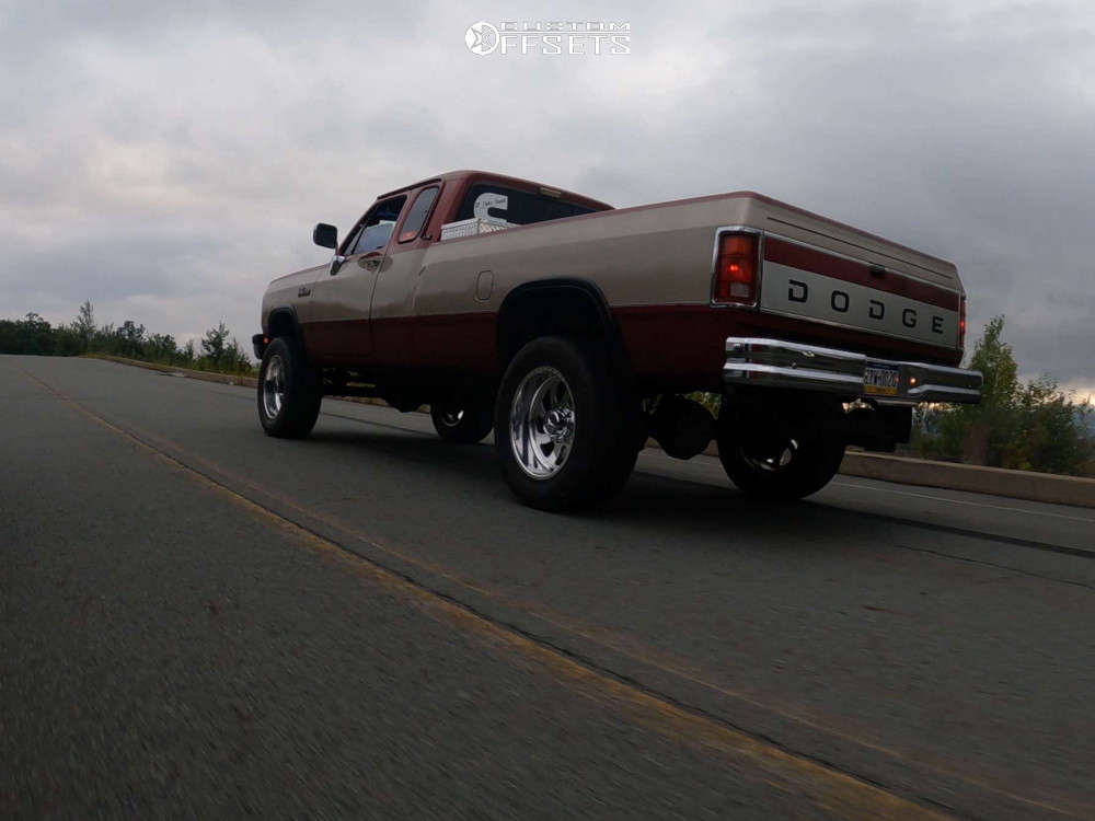 """1992 Dodge W250 Aggressive > 1"""" outside fender on 20x12 -40 offset American Force Blade Ss & 35""""x12.5"""" Nitto Ridge Grapplers on Stock Suspension - Custom Offsets Gallery"""