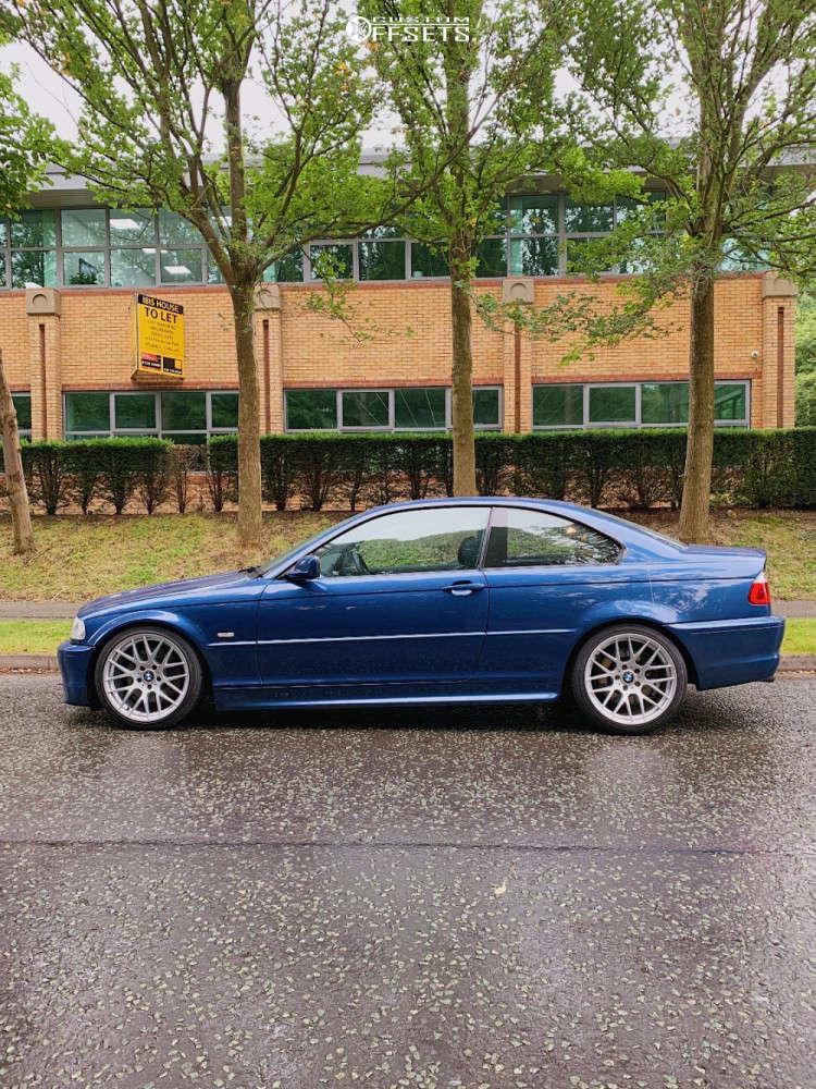 2001 BMW 330Ci Nearly Flush on 18x8.5 35 offset Avant Garde M359 & 225/40 Pirelli P-zero on Coilovers - Custom Offsets Gallery