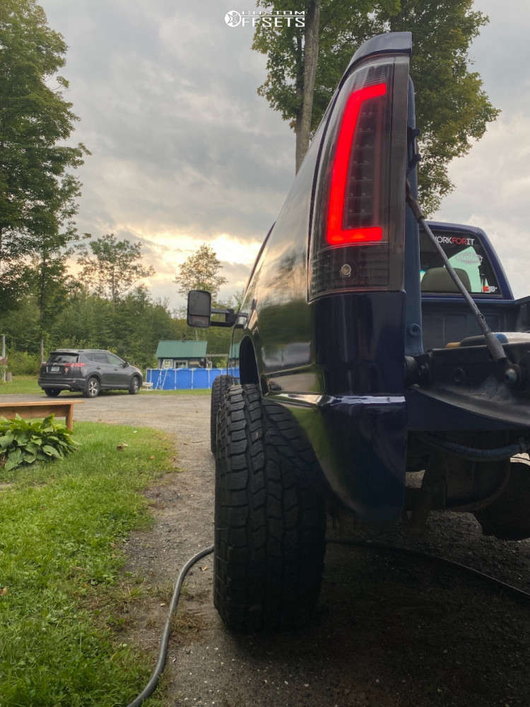 """1997 Chevrolet K1500 Super Aggressive 3""""-5"""" on 15x12 -44 offset Weld Racing Scorpio & 33""""x12.5"""" Cooper Discoverer A/t3 on Suspension Lift 2.5"""" - Custom Offsets Gallery"""