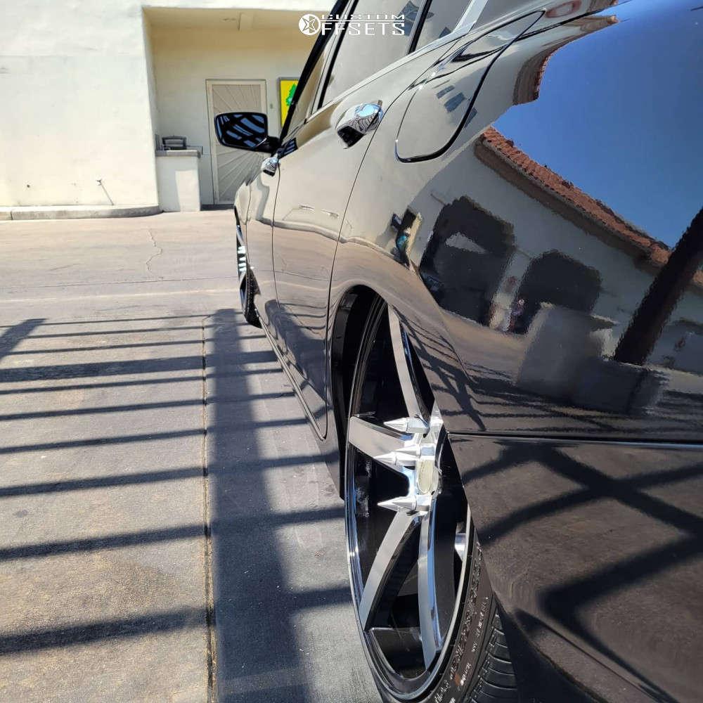 2015 Honda Accord Tucked on 20x8.5 35 offset Versus VS541 & 225/35 Nexen 5000 on Air Suspension - Custom Offsets Gallery