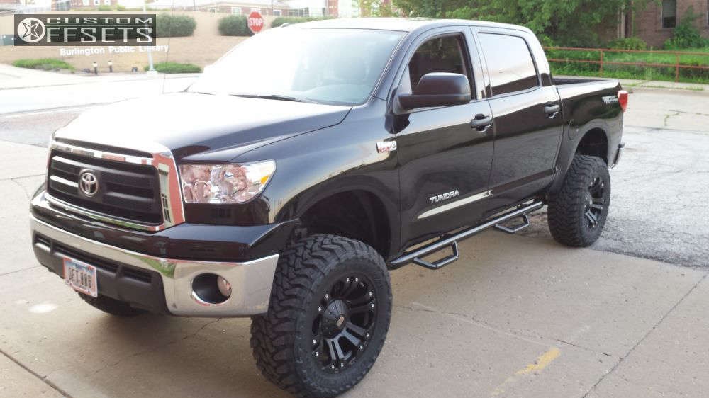 """2013 Toyota Tundra Super Aggressive 3""""-5"""" on 20x10 -12 offset XD Monster and 35""""x12.5"""" Toyo Tires Open Country M/T on Suspension Lift 6"""" - Custom Offsets Gallery"""