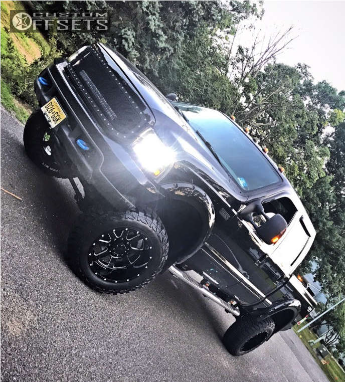 """2003 Ford F-350 Super Duty Flush on 20x12 -44 offset Gear Off-Road Big Block and 35""""x12.5"""" Kenda Klever MT on Suspension Lift 4"""" - Custom Offsets Gallery"""