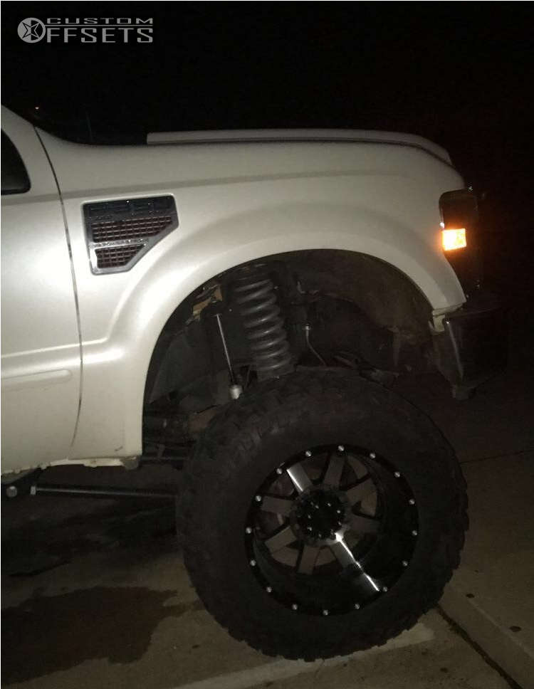 """2008 Ford F-350 Super Duty Super Aggressive 3""""-5"""" on 20x12 -44 offset Gear Off-Road Big Block and 37""""x13.5"""" Mastercraft Courser Mxt on Suspension Lift 8"""" - Custom Offsets Gallery"""